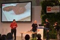von links nach rechts: M.Sack (Metzgerei Sack), S.Rimmelsbacher (disturbed cooking) und Walter Ludwig (Ludwig Grill)