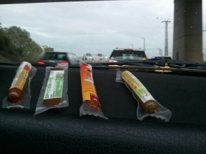 Die veganen Snacks für unterwegs im Test.