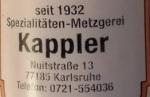 Metzgerei Kappler