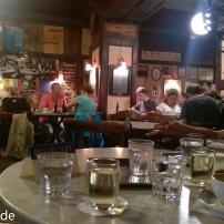 Blick ins Café Hawelka