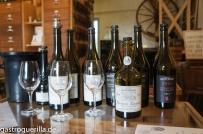 Weinprobe bei Berthet-Bondet in Châton-Chalon.